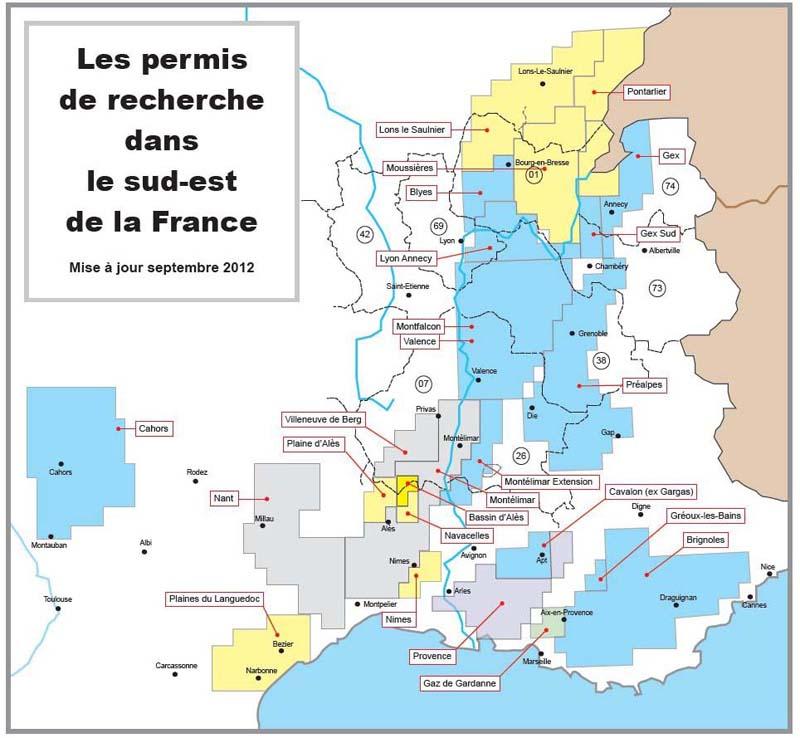 Permis-Sud-Est 2012