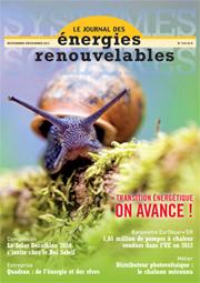 Le journal des énerg. renouvelables