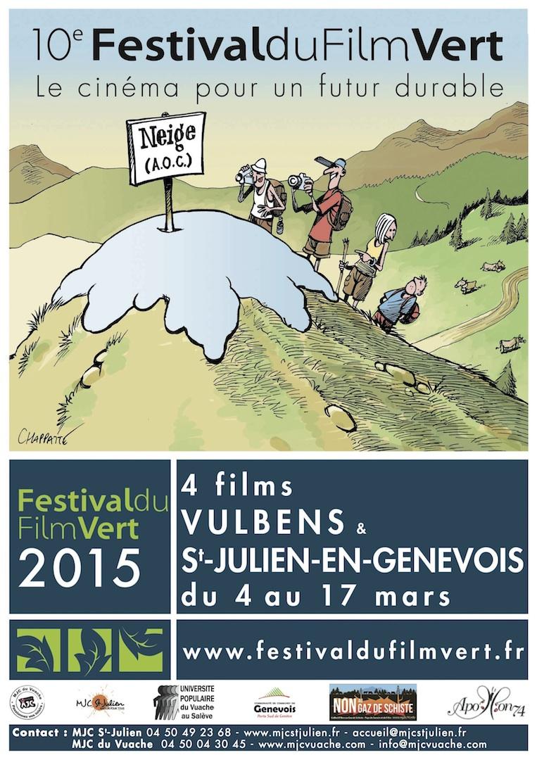 Affiche Festiv. Film Vert