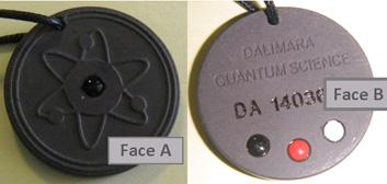 pendentifs radio-actifs